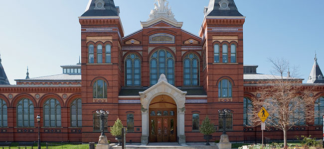 Smithsonian Institution in Washington DC
