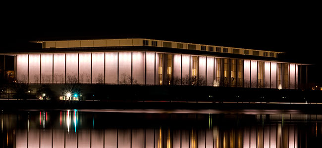 The Kennedy Center in Washington