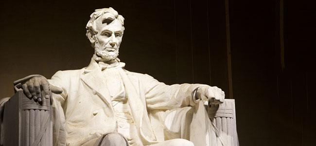 The Lincoln Memorial at Washington