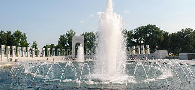 Washington DC World War II Memorial