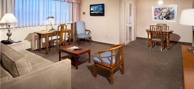 Plaza Suite King at State Plaza Hotel, Washington DC