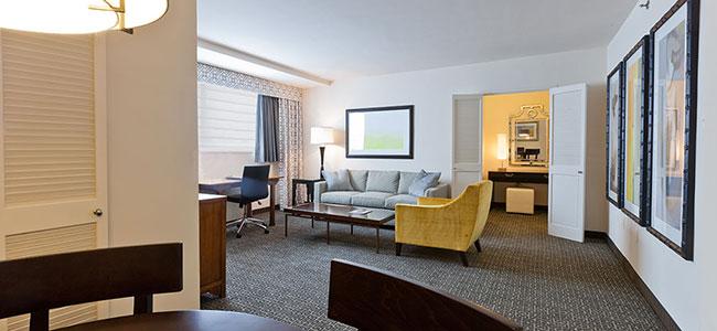State Plaza Hotel Junior Suite Queen, Washington