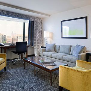 Accessible Deluxe Plaza Suite in State Plaza Hotel, Washington