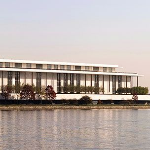 The Kennedy Center in Washington DC