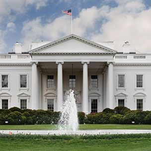 The White House at Washington DC
