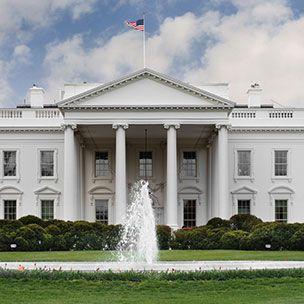 The White House at Washington DC